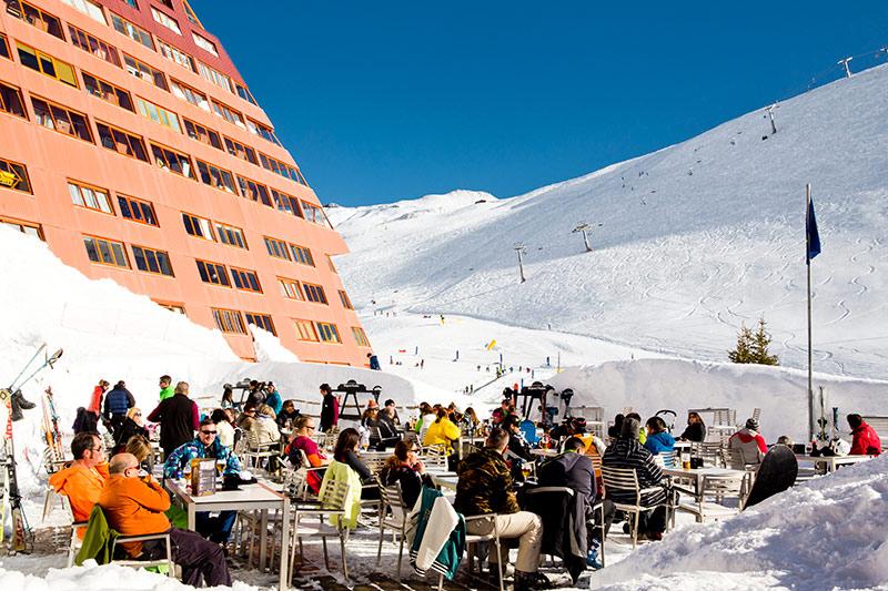 Hotel Europa un fin de semana de diciembre